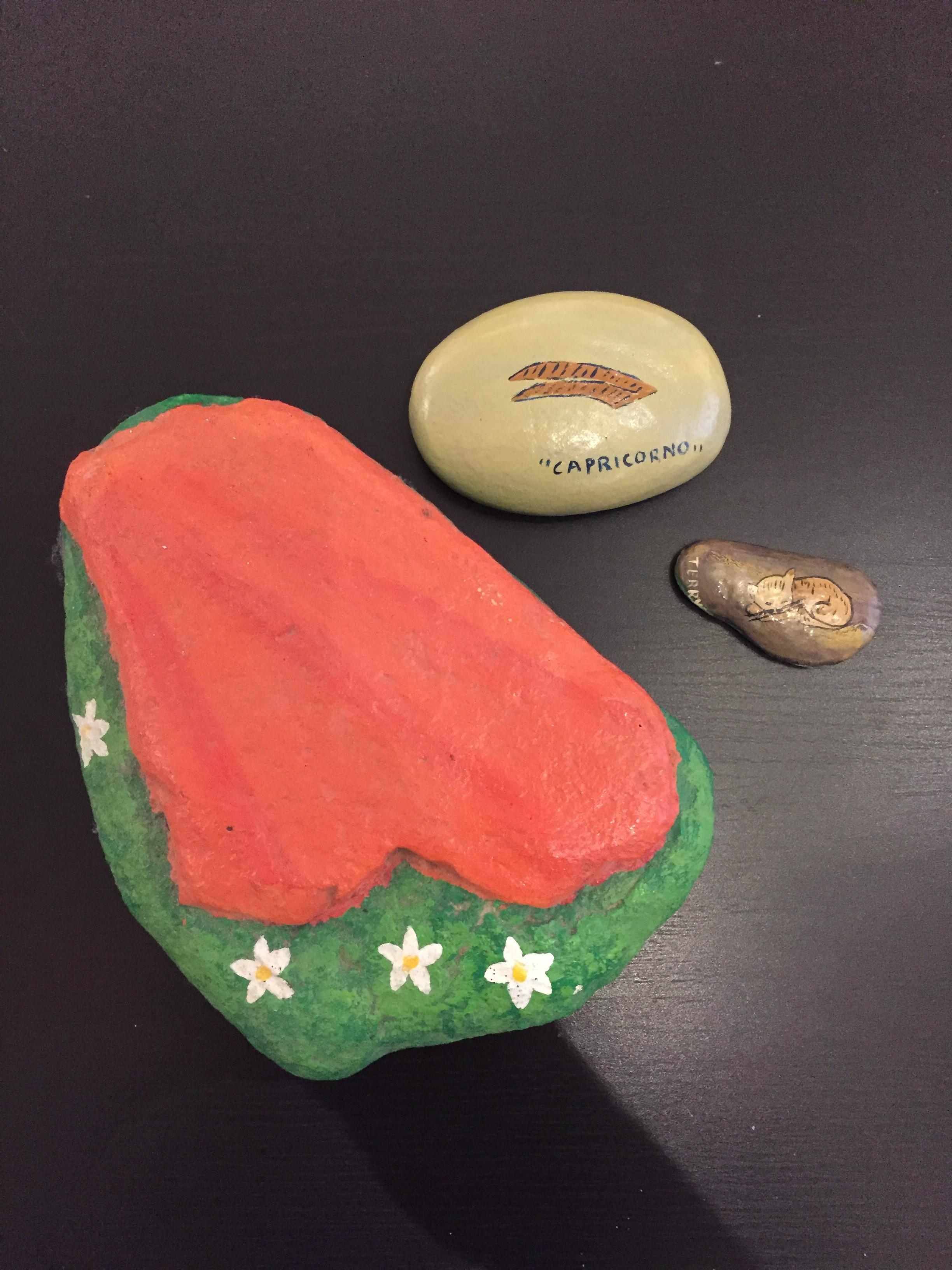 Dipingere Sassi Per Natale i sassi dipinti, un must da sempre!!! - bloggerart